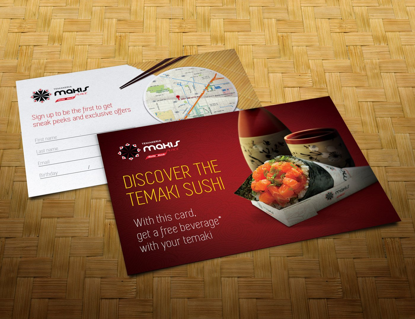 Makis Place - Flyer Creation
