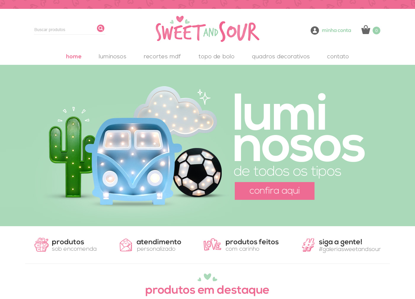 Sweet and Sour - Website Development