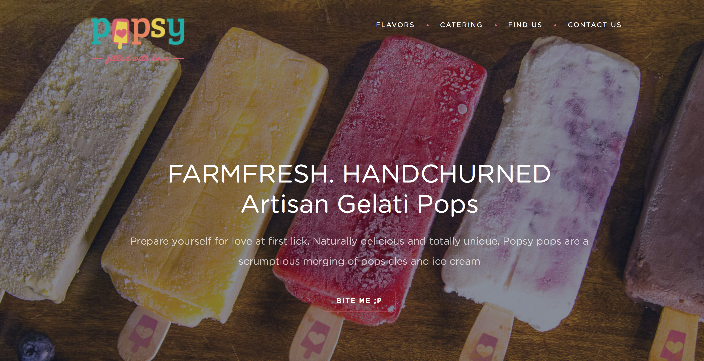Popsy Pops - Website Development
