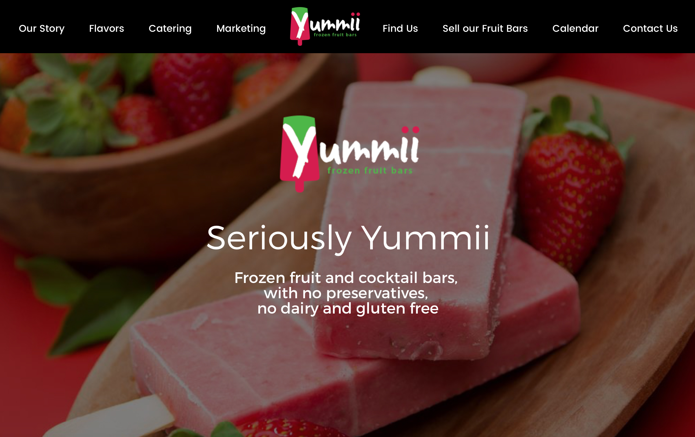 Yummii - Website Development